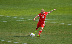 MARBELLA, SPAIN - Tuesday, March 5, 2019: Wales' Jessica Fishlock during an international friendly match between Wales and Republic of Ireland at the Estadio Municipal de Marbella. (Pic by David Rawcliffe/Propaganda)