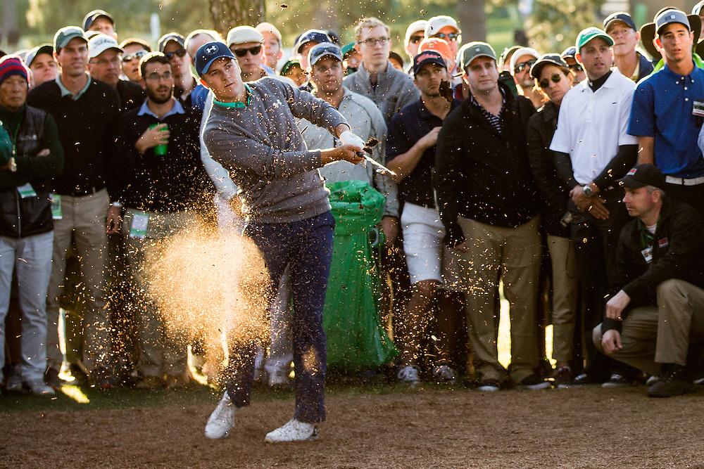 Golf: 2016 Masters<br /> Round 3 Saturday<br /> Augusta National/Augusta, GA, USA<br /> 04/09/2016<br /> SI-14 TK3<br /> Credit: Darren Carroll