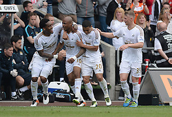 - Mandatory by-line: Alex James/JMP - 15/05/2016 - FOOTBALL - Liberty Stadium - Swansea, England - Swansea City v Manchester City - Barclays Premier League