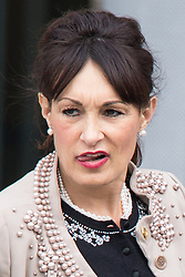 © Licensed to London News Pictures . 14/05/2015 . Liverpool , UK . Kristina Kyriacou , Prince Charles' Press Officer , who yesterday (13th May 2015) was seen obstructing reporter Michael Crick and ripping the windshield from his microphone , outside the World Museum in Liverpool during a visit by the Prince or Wales and the Duchess of Cornwall . Photo credit : Joel Goodman/LNP