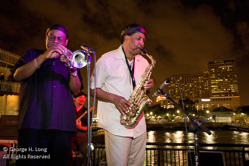 French Quarter Festival Kickoff Party: TGIF, Thank Goodness It's Festival!, Riverboat Natchez