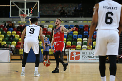Jordan Nicholls of Bristol Flyers on the ball - Photo mandatory by-line: Arron Gent/JMP - 20/11/2019 - BASKETBALL - Copper Box Arena - London, England - London Lions v Bristol Flyers - British Basketball League Cup