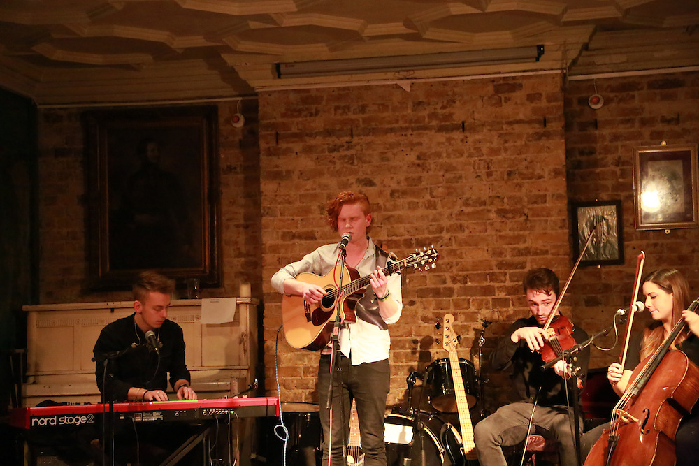 Joe Jury & band at Paradise by Way of Kensal Green on the 15th February 2015.