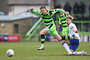 Forest Green Rovers Dayle Grubb(8) runs forward during the EFL Sky Bet League 2 match between Forest Green Rovers and Mansfield Town at the New Lawn, Forest Green, United Kingdom on 24 March 2018. Picture by Shane Healey.