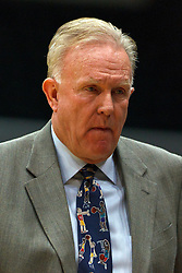 Dec 10, 2011; San Francisco CA, USA;  Pacific Tigers head coach Bob Thomason on the sidelines against the San Francisco Dons during the first half at War Memorial Gym.  Mandatory Credit: Jason O. Watson-US PRESSWIRE