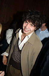 Artist CONRAD SHAWCROSS at a party hosted by Tatler magazine to celebrate the publication of the 2004 Little Black Book held at Tramp, 38 Jermyn Street, London SW1 on 10th November 2004.<br />