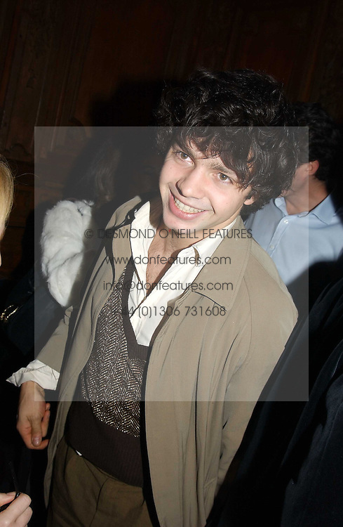 Artist CONRAD SHAWCROSS at a party hosted by Tatler magazine to celebrate the publication of the 2004 Little Black Book held at Tramp, 38 Jermyn Street, London SW1 on 10th November 2004.<br /><br />NON EXCLUSIVE - WORLD RIGHTS