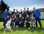 St James' with the Dundee Saturday Morning Football League First Division trophy at Fairmuir, Dundee<br /> <br /> <br />  - &copy; David Young - www.davidyoungphoto.co.uk - email: davidyoungphoto@gmail.com