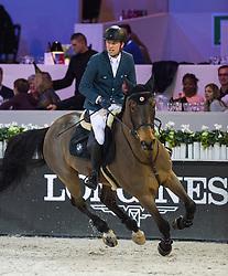 Delestre Simon, FRA, Sultan du Chateau<br /> Gold Cup<br /> Longines Masters Paris 2016<br /> © Hippo Foto - Cara Grimshaw