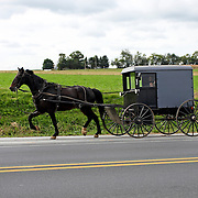 Amish Buggy, Lancaster County, Intercourse, PA<br /> <br /> For Editorial Purposes Only.
