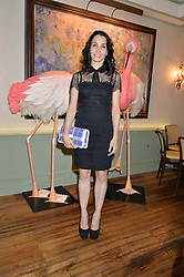 Ballerina TAMARA ROJO at a dinner hosted by Kate Spade NY to celebrate Chelsea in Bloom held at Daphne's, 112 Draycott Avenue, London on 20th May 2015.
