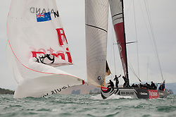 LVPS Final Auckland ETNZ - Alinghi ETNZ wins with 3-1 against Alinghi, 14.02.09