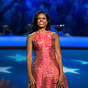 First Lady Michelle Obama speaks at the 2012 Democratic National Convention