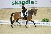 Marcela Krinke Susmeij - Smeyers Molberg<br /> Reem Acra FEI World Cup Dressage Final 2013<br /> © DigiShots