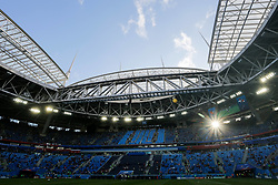 June 19, 2018 - Saint Petersburg, Russia - A general view of Saint Petersburg Stadium ahead of the 2018 FIFA World Cup Russia group A match between Russia and Egypt on June 19, 2018 at Saint Petersburg Stadium in Saint Petersburg, Russia. (Credit Image: © Mike Kireev/NurPhoto via ZUMA Press)