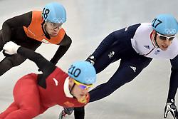21-02-2014 SHORTTRACK: OLYMPIC GAMES: SOTSJI<br /> Sjinkie Knegt redt het niet om de finale van de 500 meter te halen.<br /> ©2014-FotoHoogendoorn.nl