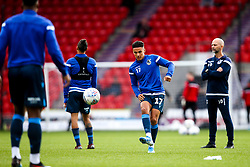 Tyler Smith of Bristol Rovers warms up - Mandatory by-line: Robbie Stephenson/JMP - 19/10/2019 - FOOTBALL - The Keepmoat Stadium - Doncaster, England - Doncaster Rovers v Bristol Rovers - Sky Bet League One