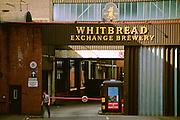 Whitbread Exchange Brewery, Sheffield. Circa 1988.