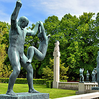 History of Frogner Park in Oslo, Norway <br />