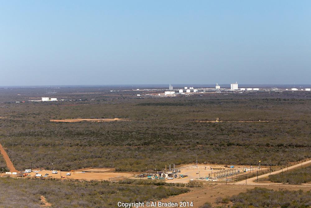 Gas compressors, Cotulla, TX