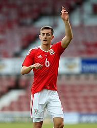 Tom Lockyer of Wales U21 - Mandatory by-line: Matt McNulty/JMP - 02/09/2016 - FOOTBALL - The Racecourse Ground - Wrexham, United Kingdom - Wales v Denmark - UEFA Euro 2017 U21 qualifying round