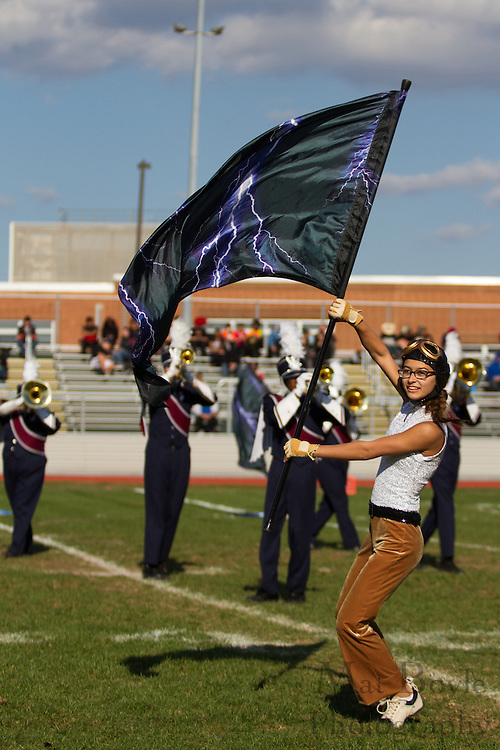Eastern High School's marching band performs at the South Jersey Chapter Championships held at Clearview High School on Sunday October 21, 2012. (photo / Mat Boyle)