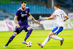 Amir Dervisevic of NK Maribor during 2nd Leg football match between NK Maribor and FC Chikhura in 2nd Qualifying Round of UEFA Europa League 2018/19, on August 2, 2018 in Ljudski vrt, Maribor, Slovenia. Photo by Ziga Zupan / Sportida