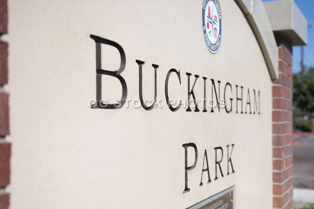 Buckingham Park in Westminster California