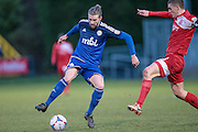 Kingsley James (Halifax) during the Vanarama National League match between FC Halifax Town and Welling United at the Shay, Halifax, United Kingdom on 30 January 2016. Photo by Mark P Doherty.