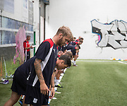 Ready, set, go for Dundee players  -  Dundee FC pre-season testing at Manhattan Works, Dundee<br /> <br />  - &copy; David Young - www.davidyoungphoto.co.uk - email: davidyoungphoto@gmail.com