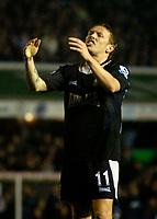 Photo: Glyn Thomas.<br />Birmingham City v Blackburn Rovers. The Barclays Premiership. 19/04/2006.<br /> Blackburn's Craig Bellamy looks dejected.