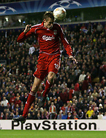 Photo: Paul Thomas/Sportsbeat Images.<br /> Liverpool v Besiktas. UEFA Champions League. 06/11/2007.<br /> <br /> Peter Crouch scores the final goal for Liverpool.