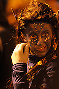 carnival, night parade, child disguise, Guadarrama, Sapin