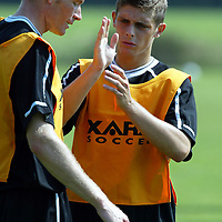 St Johnstone Training...08.08.03<br />