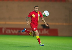 LLANELLI, WALES - Wednesday, August 15, 2012: Wales' Craig Bellamy in action against Bosnia-Herzegovina during the international friendly match at Parc y Scarlets. (Pic by David Rawcliffe/Propaganda)