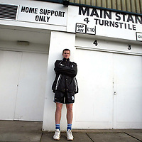 St Johnstone's Chris Hay, pictured at McDiarmid Park<br /><br />Pic by Graeme Hart<br />Copyright Perthshire Picture Agency<br />Tel: 01738 623350 / 07990 594431