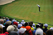 Jul 29, 2016; Springfield, NJ, USA; Jimmy Walker putts on the fourth green during the second round of the 2016 PGA Championship golf tournament at Baltusrol GC - Lower Course. Mandatory Credit: Eric Sucar-USA TODAY Sports