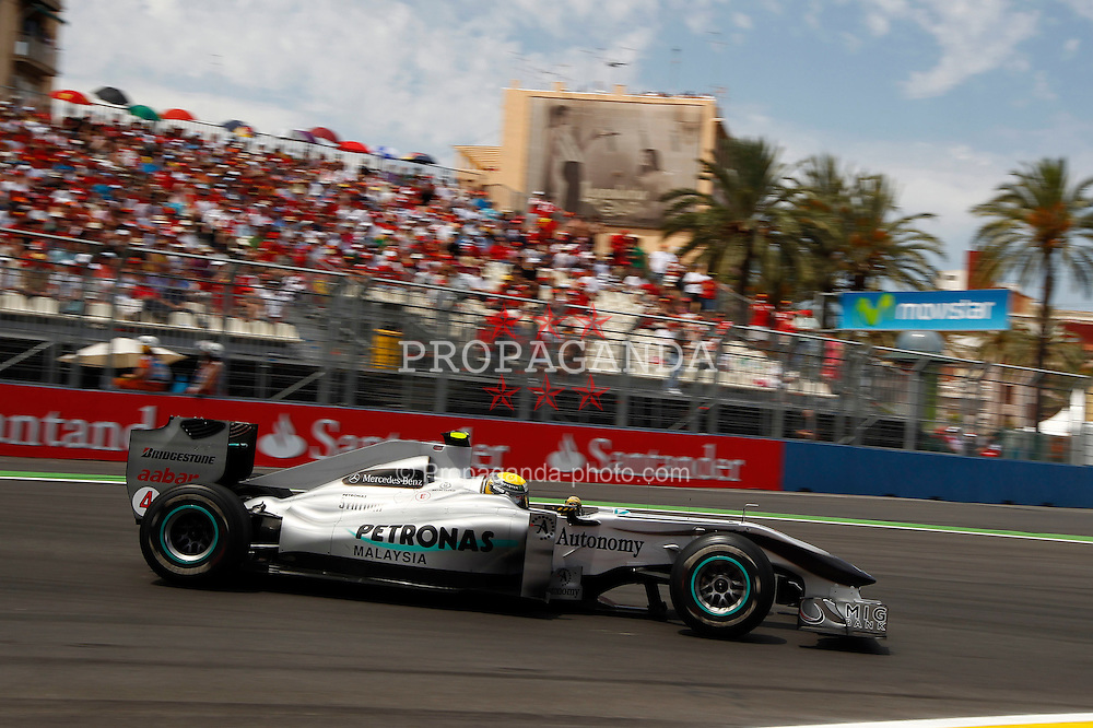Motorsports / Formula 1: World Championship 2010, GP of Europe, 04 Nico Rosberg (GER, Mercedes GP Petronas),