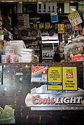 The original counter at Buchanan's Store in Mason, NC
