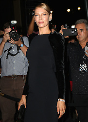 September 7, 2016 - New York, New York, United States - Uma Thurman attending the Tom Ford fashion show during New York Fashion Week on September 7, 2016 in New York City  (Credit Image: © Nancy Rivera/Ace Pictures via ZUMA Press)