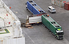 Napier-5300 dairy cows loaded for export to China