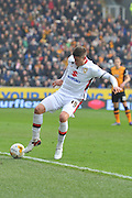 Milton Keynes Dons striker Alex Revell during the Sky Bet Championship match between Hull City and Milton Keynes Dons at the KC Stadium, Kingston upon Hull, England on 12 March 2016. Photo by Ian Lyall.