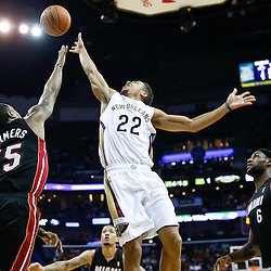 03-22-2014 Miami Heat at New Orleans Pelicans