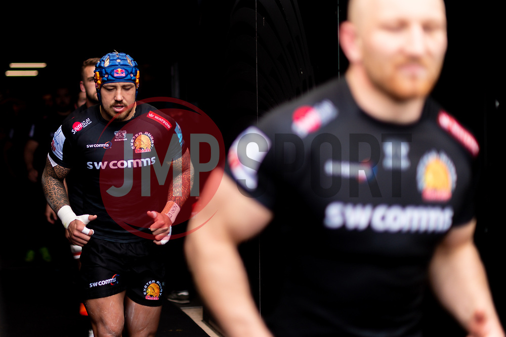 Jack Nowell of Exeter Chiefs - Mandatory by-line: Ryan Hiscott/JMP - 14/04/2019 - RUGBY - Sandy Park - Exeter, England - Exeter Chiefs v Wasps - Gallagher Premiership Rugby