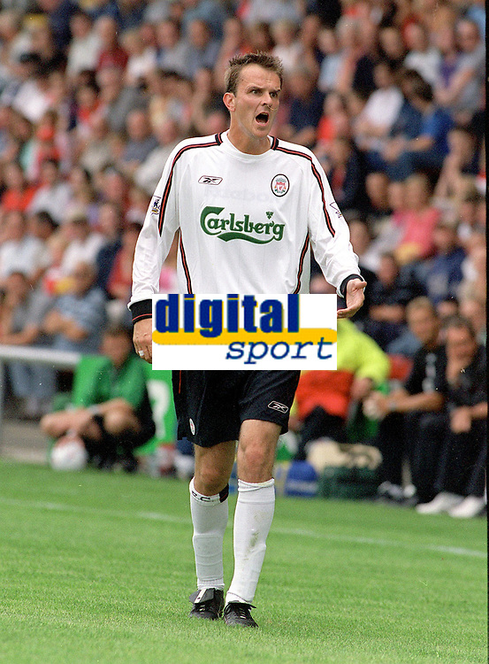 Ditmar Hamann (Liv). Crewe v Liverpool. Pre season friendly match. 19/7/2003. Credit : Colorsport/Andrew Cowie.