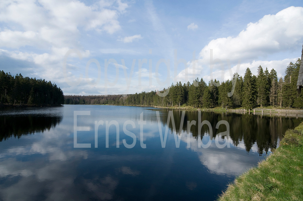 Oderteich, Stausee, UNESCO Weltkulturerbe Oberharzer Wasserwirtschaft, Harz, Niedersachsen, Deutschland | Oder Lake, reservoir, UNESCO World heritage site, Harz, Lower Saxony, Germany