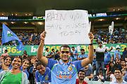 Indian fan. T20 international, Australia v India. Sydney Cricket Ground, NSW, Australia, 25 November 2018. Copyright Image: David Neilson / www.photosport.nz
