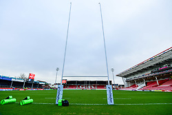 A general view of Kingsholm prior to kick off - Mandatory by-line: Ryan Hiscott/JMP - 01/12/2018 - RUGBY - Kingsholm - Gloucester, England - Gloucester Rugby v Worcester Warriors - Gallagher Premiership Rugby