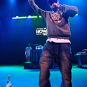 WASHINGTON, DC - January 22nd, 2013 - Long Island rapper Roc Marciano (left) performs with DJ Alejandro at the Howard Theater in Washington, D.C.  His sophomore album, Reloaded, was released to widespread acclaim in November 2012. (Photo by Kyle Gustafson/For The Washington Post)