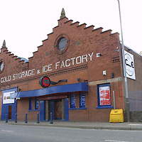 The exterior of the Ice Factory nightclub in Shore Road, Perth. <br /><br />Picture by John Lindsay.<br />COPYRIGHT: Perthshire Picture Agency.<br />Tel. 01738 623350 / 07775 852112.